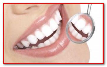 Здоровые зубы с ионной щеткой